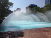Edmonton fountains
