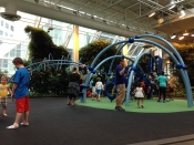 Calgary shopping mall play area