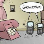 Grandma phones